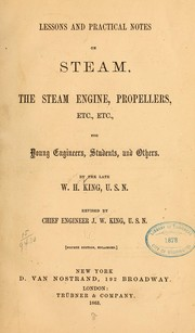 Cover of: Lessons and practical notes on steam | William H. King