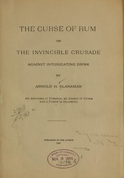 Cover of: The curse of rum