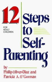 Cover of: 12 steps to self-parenting