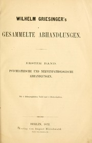Cover of: Gesammelte Abhandlungen