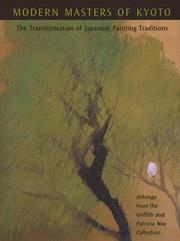 Cover of: Modern masters of Kyoto