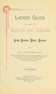 Cover of: Ladies' guide in health and disease