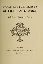 Cover of: More little beasts of field and wood