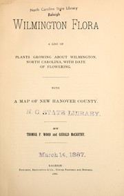 Cover of: Wilmington flora