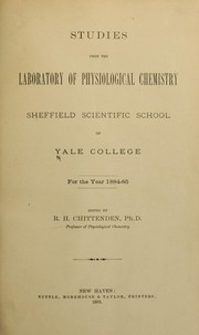Cover of: Studies ... for the year 1884-85 [1885-86, 1887-88]