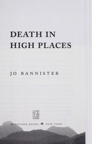 Cover of: Death in high places