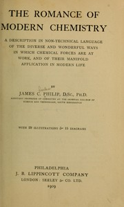 Cover of: The romance of modern chemistry