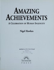 Cover of: Amazing achievements