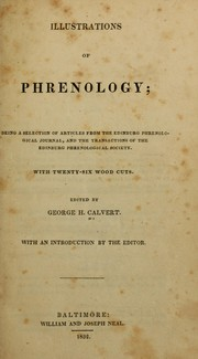 Cover of: Illustrations of phrenology