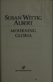 Cover of: Mourning Gloria