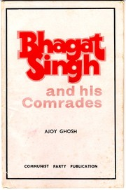 Cover of: Bhagat Singh and his comrades