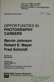 Cover of: Opportunities in Photography Careers by