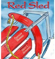 Cover of: Red sled | Thomas, Patricia