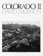 Cover of: Colorado II | David Muench