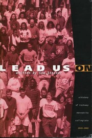 Cover of: Lead us on |