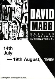 Cover of: David Mabb, Elegies to the Third International. | David Mabb