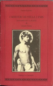 Cover of: I misteri di villa Lysis