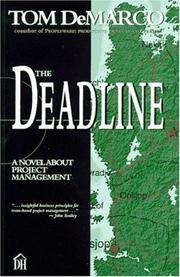 Cover of: The Deadline: a novel about project management