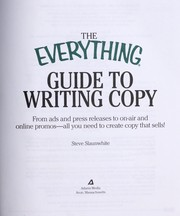 Cover of: The everything guide to writing copy