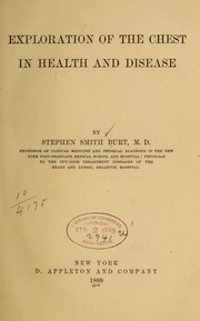 Cover of: Exploration of the chest in health and disease