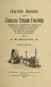 Cover of: Handbook of Corliss steam engines