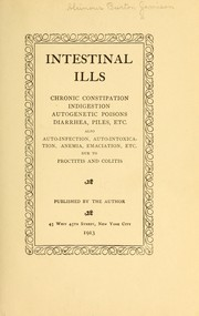 Cover of: Intestinal ills