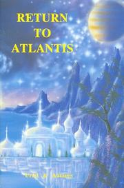 Cover of: Return to Atlantis