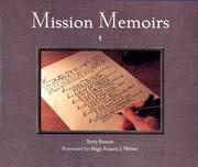 Cover of: Mission memoirs