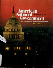 Cover of: American national government | Ross, Robert S.