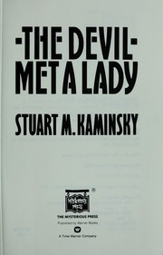 Cover of: The devil met a lady