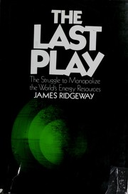 Cover of: The last play | Ridgeway, James