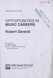Cover of: Opportunities in Music Careers |
