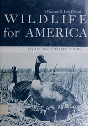 Cover of: Wildlife for America