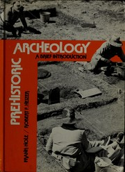 Cover of: Prehistoric archeology | Frank Hole