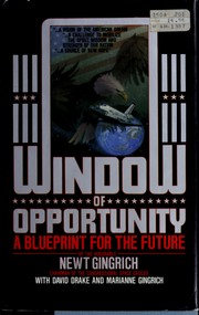 Cover of: Window of opportunity: A Blueprint for the Future