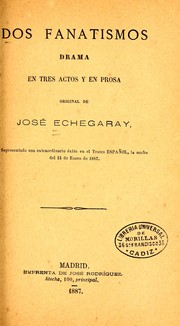 Cover of: Dos fanatismos