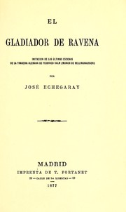 Cover of: El gladiador de Ravena