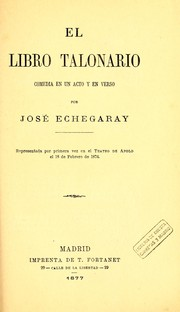 Cover of: El libro talonario