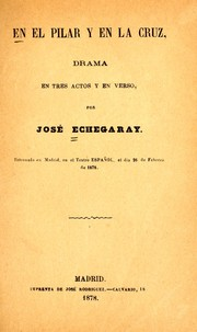 Cover of: En el pilar y en la cruz