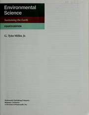 Cover of: Environmental Science