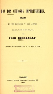 Cover of: Los dos curiosos impertinentes