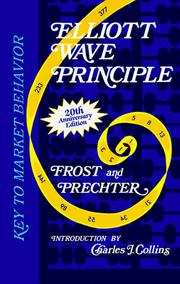 Elliott wave principle by A. J. Frost