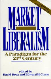 Cover of: Market Liberalism |