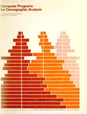 Cover of: Computer programs for demographic analysis