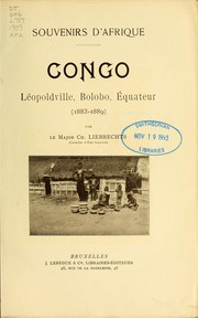 Cover of: Congo