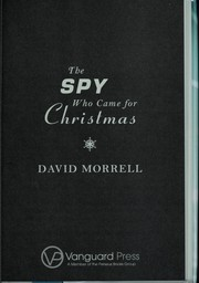 Cover of: The spy who came for Christmas