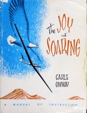 Cover of: The joy of soaring