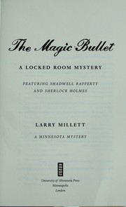 Cover of: The magic bullet