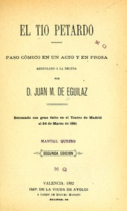 Cover of: El tío Petardo