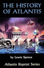 Cover of: The History of Atlantis